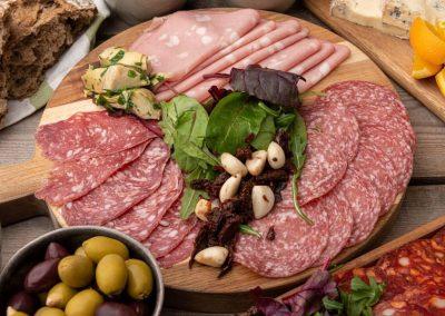 Tre slags italiensk luksusspegepølse